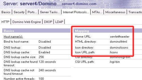 http mapping home URL