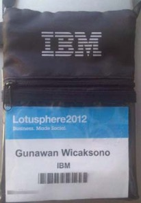 My Lotusphere 2012 Badge