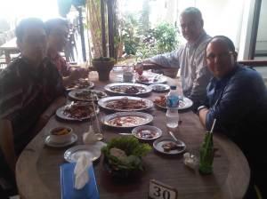 Lunch at Bandar Djakarta