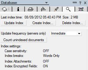 Create or Update Index
