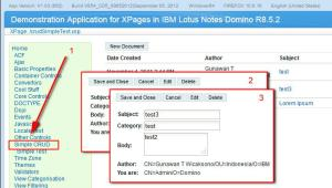 xpages simple crud