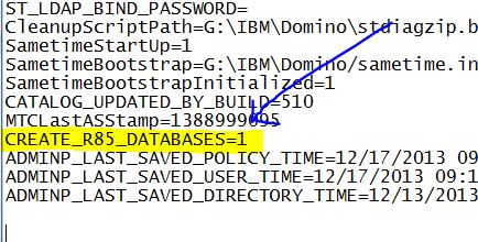 notes.ini di server Domino